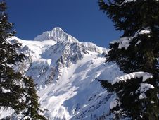 Winter At Mt Shuksan