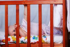 Free Little Baby Girl. Royalty Free Stock Photos - 5043068