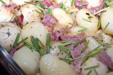 Potato Bacon Salad Royalty Free Stock Images