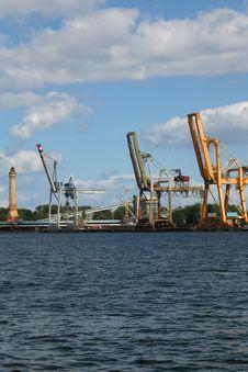 Docks 1 Stock Photography