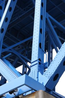 Free Bridge Support Beams Royalty Free Stock Photo - 5044025