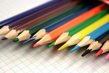 Free Color Pencils Royalty Free Stock Photo - 5044085