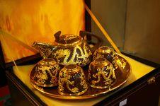 Free Tea Set Royalty Free Stock Photos - 5045108