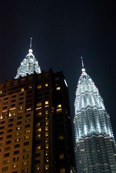 Free KLCC, Petronas Twin Towers Royalty Free Stock Photo - 5045605