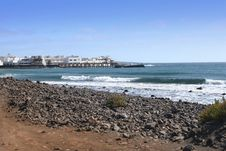 Free Lanzarote Shore, Canary Island Royalty Free Stock Images - 5045929
