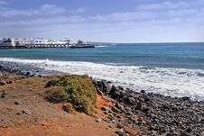 Free Lanzarote Shore, Canary Island Royalty Free Stock Images - 5045939