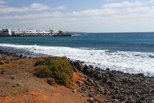 Free Lanzarote Shore, Canary Island Stock Image - 5045941
