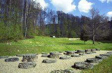 Free Sarmizegetusa Regia Sanctuary Stock Photography - 5046052
