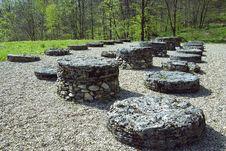 Free Sarmizegetusa Regia Sanctuary Stock Image - 5046191