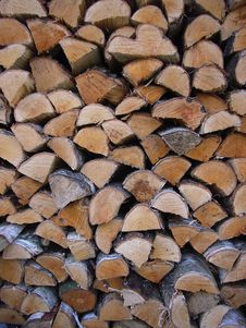 Free Fire Wood Royalty Free Stock Photography - 5046847