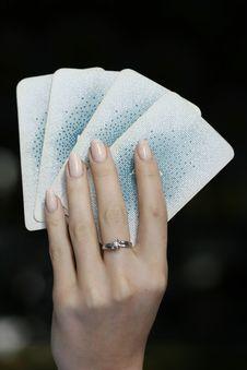 Free Card-playerin Stock Photos - 5047263