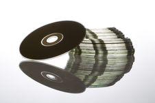 Free CDs Royalty Free Stock Photos - 5048268