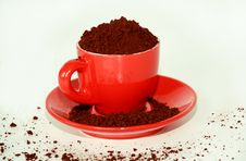 Free Cup Of Coffee Royalty Free Stock Photos - 5048568
