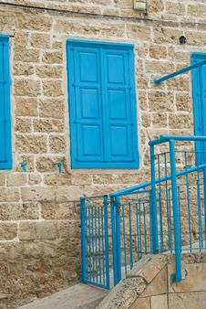 Free Blue Window Stock Photo - 5048770