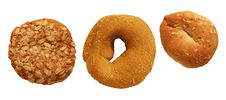 Oat N Molasses Cookies Stock Photo
