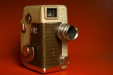 Free Vintage Movie Camera Stock Photo - 5049090