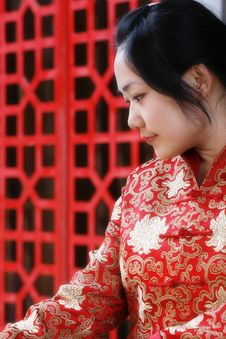 Free A Chinese Girl Stock Photos - 5049173