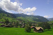 Free The Alpine Landscape Stock Image - 5049551