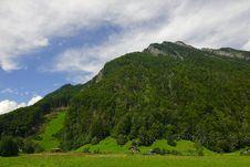 Free The Alpine Landscape Stock Photography - 5049642