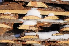 Free Woodpile Stock Image - 50476051