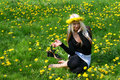 Free Girl Relax In Nature Royalty Free Stock Photos - 5054878