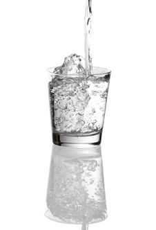 Free Glass Of Water Being Filled Stock Image - 5050431