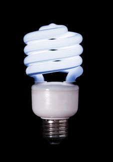 Compact Fluorescent Royalty Free Stock Photos