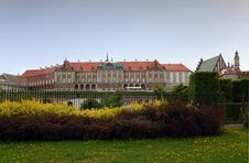 Free Royal Palace In Warsaw Stock Photo - 5054120