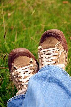 Free Resting Feet Royalty Free Stock Photos - 5054738