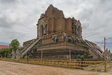 Free Wat Chedi Luang, Temple In Thailand Stock Image - 5054791