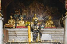 Free Buddhist Statue In Doi Suthep Temple, Thailand Royalty Free Stock Photography - 5054887