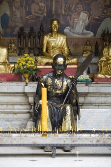 Free Buddhist Statue In Doi Suthep Temple, Thailand Stock Photography - 5054902