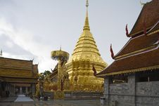Free Doi Suthep, Temple In Chiang Mai, Thailand Stock Image - 5054971