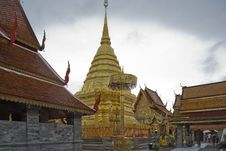 Free Doi Suthep, Temple In Chiang Mai, Thailand Royalty Free Stock Photos - 5054998