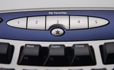 Free Keyboard Favorites Stock Photography - 5055182