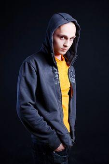 Free Fashion Portrait Of Man Stock Photo - 5055310