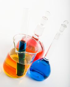 Free Various Colorful Flasks Stock Photos - 5055363