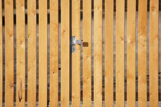 Free Fence Door Royalty Free Stock Photo - 5055385