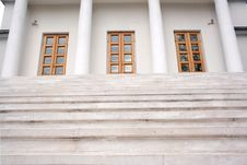 Free Marble Stairs Royalty Free Stock Image - 5056136