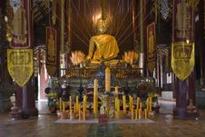 Free Wat Chedi Luang, Indoor, Temple In Thailand Stock Photo - 5056210