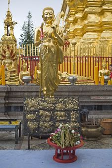 Free Doi Suthep, Temple In Chiang Mai, Thailand Stock Images - 5056254