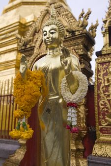 Free Doi Suthep, Temple In Chiang Mai, Thailand Stock Image - 5056271