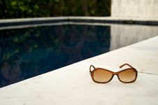 Free Poolside Shades Royalty Free Stock Image - 5056286