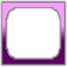 Free Purple Frame Royalty Free Stock Image - 5056736