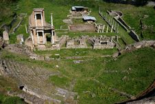 Free Antique Roman Theatre Royalty Free Stock Photos - 5057068