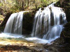 Free Waterfall In Jiuzhaigou Valley Scenic Stock Photo - 5057180