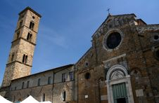 Volterra - Cathedral Stock Image