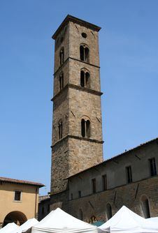 Free Volterra - Cathedral Tower Stock Photos - 5057243