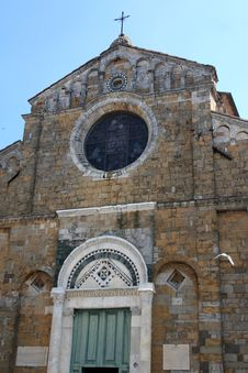 Free Volterra - Cathedral Face Stock Image - 5057251