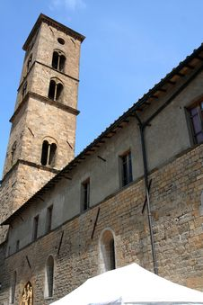 Free Volterra - Cathedral Tower Royalty Free Stock Photos - 5057328